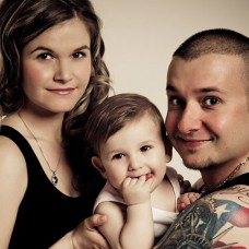 Krisztián, Viktoria & Arien